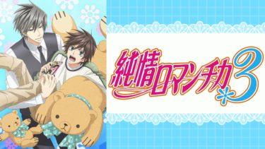 純情ロマンチカ3のアニメ動画を全話無料視聴できるサイトまとめ